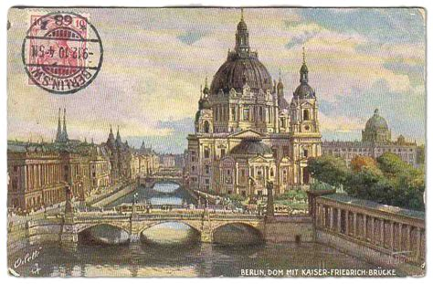 New Berlin Post Office Hours by Berlin Underground Electric Mail Roads 1909