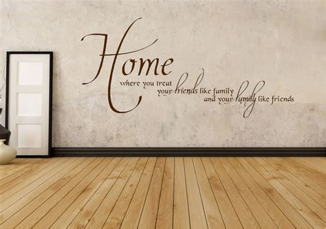 family friends home quote creative wall art sticker quotes about home and family google search home quotes