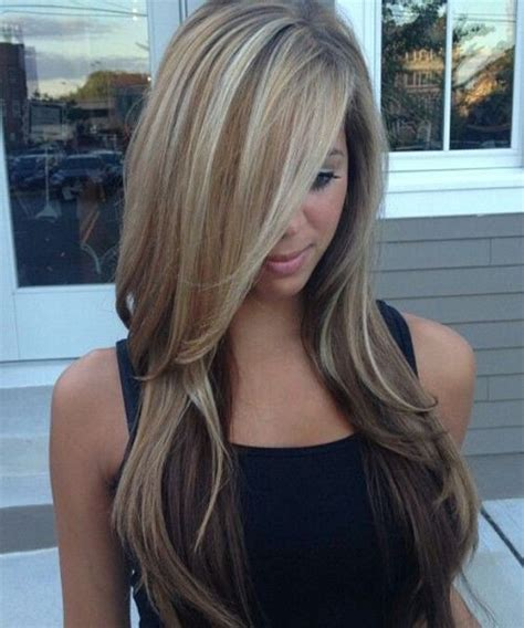 lovely long hair ladies layers soft feathered long balayage hairstyles haircuts  men