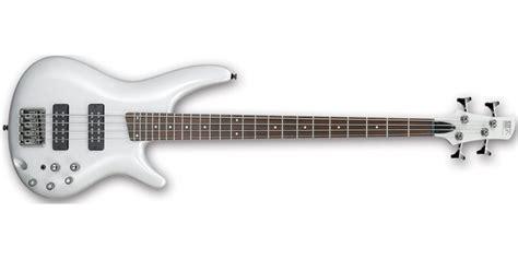 ibanez sr300e pw powder white 4 string bass guitar co uk