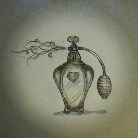 perfume bottle tattoo sketch by ranz pinterest