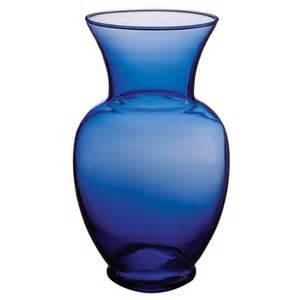 cobalt blue centerpiece vase