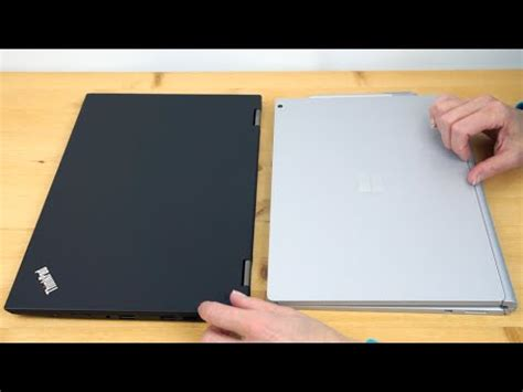 lenovo thinkpad x1 yoga vs microsoft surface book