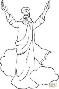 Jesus Ascension Coloring Page Free Printable Coloring Pages Jesus Ascension Coloring Page