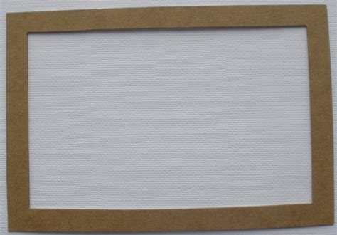Frame Chipboard 3 4 x 6 picture frames photo frame unfinished bare chipboard die cuts ebay