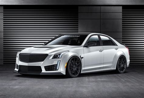 Fast Four Door Cars by Hennessey Wants To Turn The Cadillac Cts V Into The Fastest 4 Door Saloon In The World