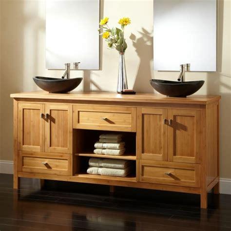badezimmer vanity hocker waschbeckenunterschrank aus bambus