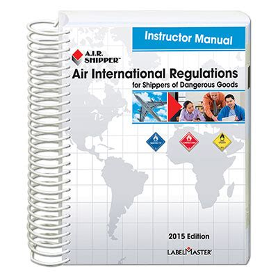 air transport of dangerous goods safe handling guide labelmaster from labelmaster