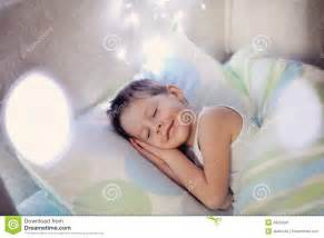 boy in bed stock image image 28252381