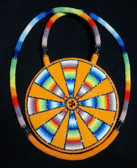 beaded medallion patterns beautiful american beaded medallion pinned by