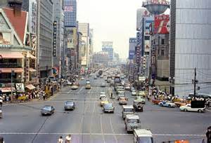 Vintage everyday color photos of japan in 1960