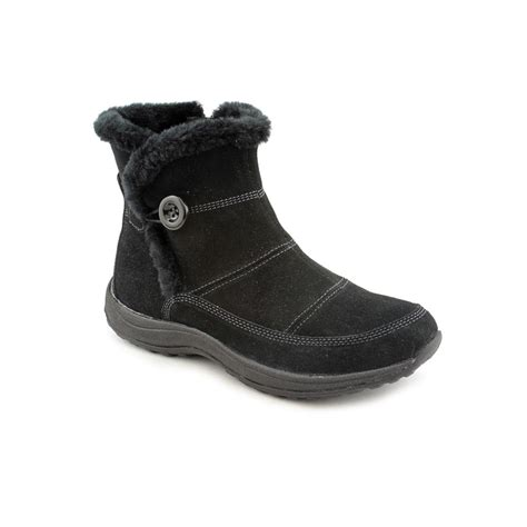 easy spirit boots easy spirit stories womens suede fashion ankle boots new
