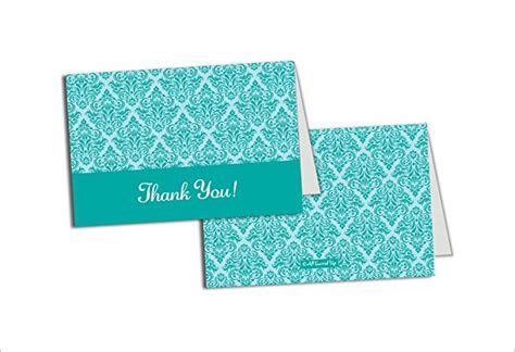thank you card design template 17 bridal shower thank you cards free printable psd