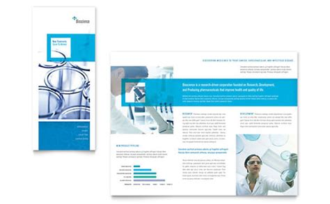 Medical Health Care Tri Fold Brochure Templates Word Publisher Microsoft Word Trifold Template