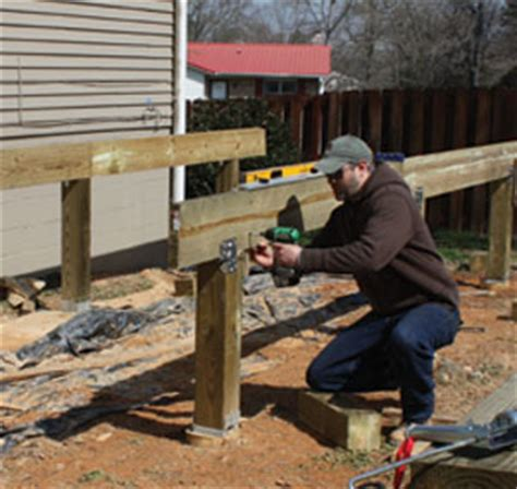 diy build a freestanding cantilevered deck extreme how to