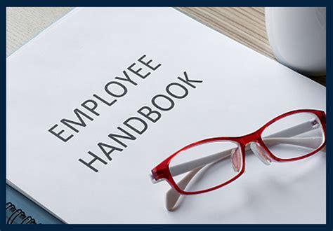 employee handbook web mobile desktop design