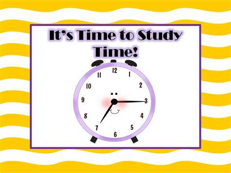 it s it s time to study time fern smith s classroom ideas