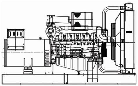drawing generator made in korea generator alternator generator