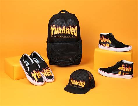 Vans X Thraser Vans X Thrasher Route One