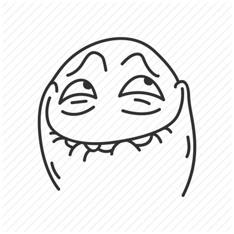 Meme Icon - derp emotion excited funny lol meme reaction icon