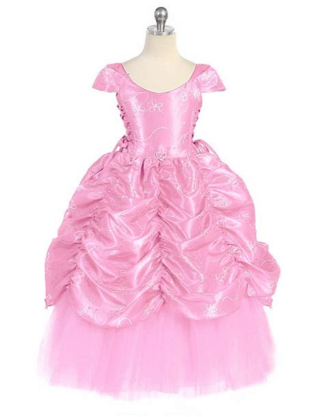 pattern for pink cinderella dress pink taffeta embroidered cinderella dress