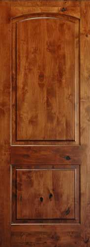 8 Panel Interior Wood Doors by Knotty Alder 8 Arch 2 Panel Wood Interior Doors