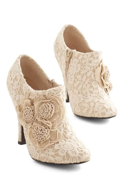 Wedding Booties by Shoe A Lovely Change Of Lace Bootie 2361576 Weddbook