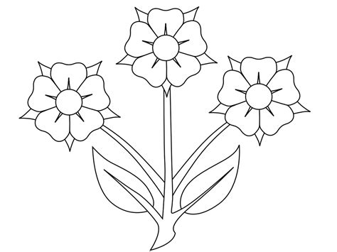 flowers clipart black and white flowers clip black and white many flowers