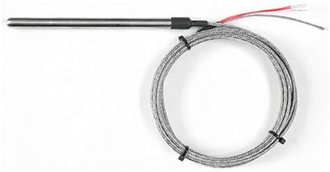 Thermocouple Type Pt100 5 X 150 Mm 2 Mtr 3 wire pt100 rtd 3 8 quot 9 5mm dia x 150mm 3 5m stainless steel braid lead uk