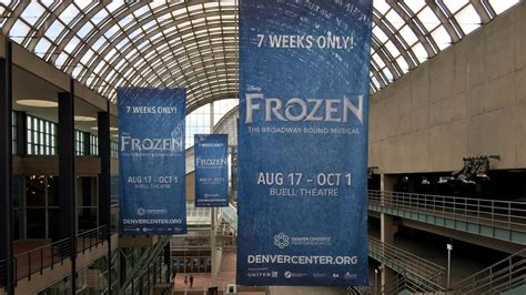 denver theatre frozen dcpa frozen watch a preview of the broadway musical ahead of