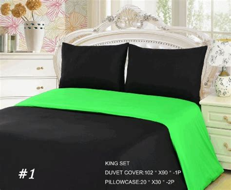 Lime Green And Black Comforter And Bedding Sets Green And Black Bedding Sets