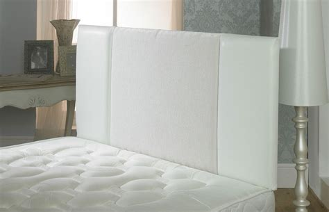 large white headboard oxford chenille faux leather headboard