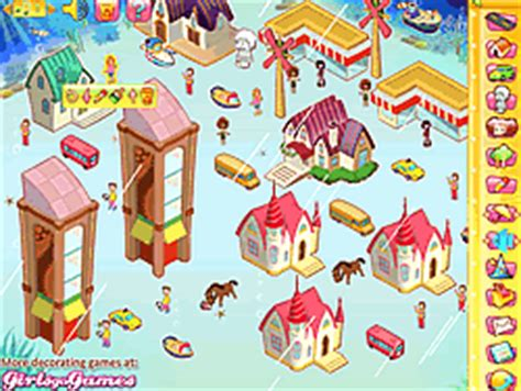 town decoration game play   ycom