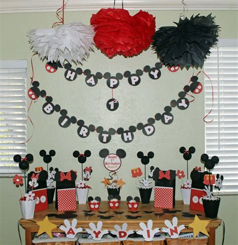 Mickey Mouse Handmade Decorations - 17 best images about mickey mouse themed baby shower on