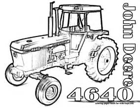 pics photos tractor coloring pages book