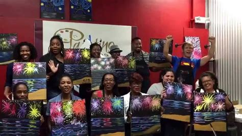 Happy New Year From Painting With A Twist In Miami