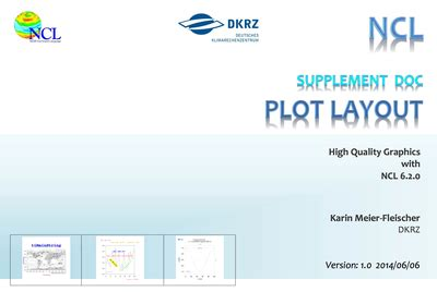 supplement document visualization with ncl on workshop fall 2014 dkrz