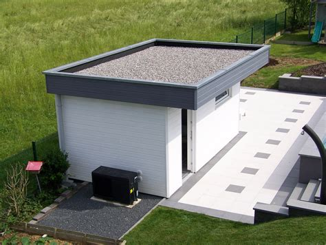 plat house pool house en bois toit plat myqto com