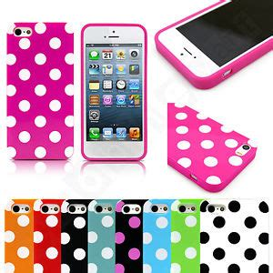 Promo Iphone 5 5s Soft Jelly Cp 09 Casing Iphone 5 5s hybrid thin slim rubber tpu cover for iphone 5 5s polka dot design ebay