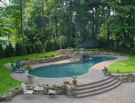kidney shaped pool kidney shaped pool residential pools pinterest