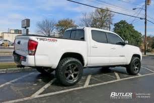 Toyota Tacoma Tires And Rims Toyota Tacoma Custom Wheels Fuel Beast 18x Et Tire Size