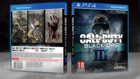 Bd Ps4 Call Of Duty Black Ops 3 Blackops 3 Bo 4 call of duty black ops iii playstation 4 box cover by