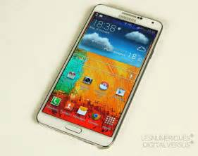 Sparepart Galaxy Note 3 samsung galaxy note 3 test complet smartphone les