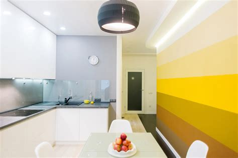 yellow accent wall 22 yellow accent kitchens that really shine