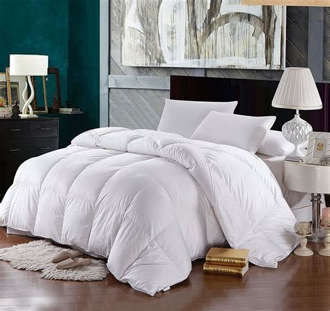 king down comforter solid 500 thread count full queen siberian down