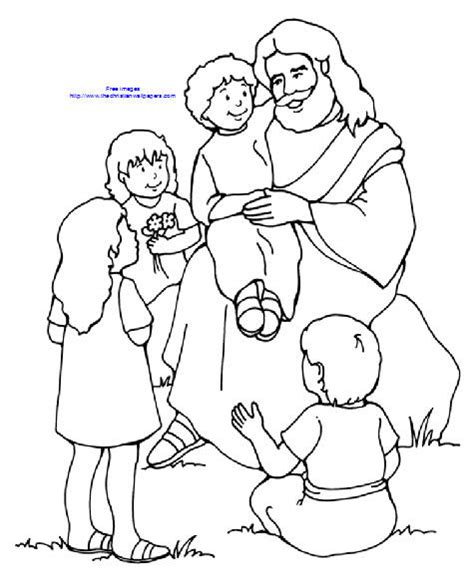 lds coloring pages blessings coloring page lds jesus blessing children pesquisa