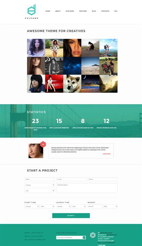 popular creative wordpress themes free premium templates