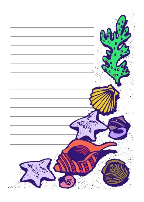 printable images beach free printable beach stationary stationery