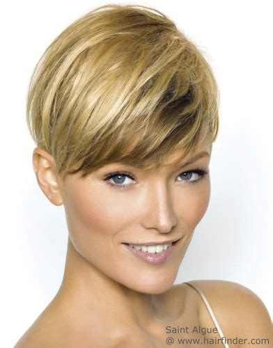 womens hair just above ears short haircut with the length above the ear and an ultra