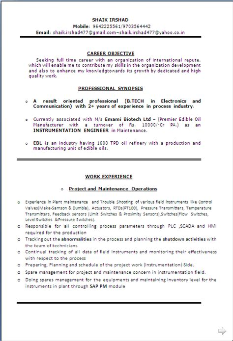sle resume for electrical engineer in construction field sle cv communication engineer essay writing